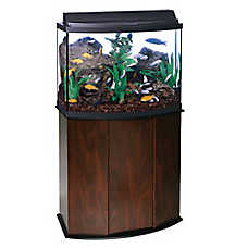 Aqueon® 36 Gallon Bow Front Aquarium Ensemble