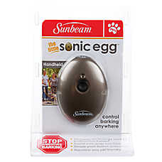 Sunbeam The Little Sonic Handheld Egg Dog Bark Control Device