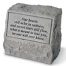 Kay Berry Our Hearts Pet Headstone