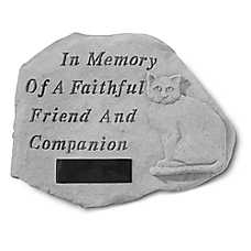 Kay Berry In Memory Personalized Cat Memorial Stone