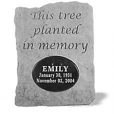 Kay Berry Planted in Memory Pesonalized Pet Memorial Stone