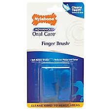 Nylabone Advanced Oral Care Finger Dog Brush