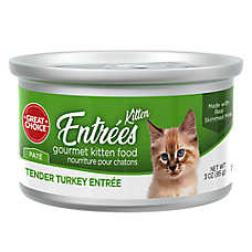 Grreat Choice® Classic Gourmet Kitten Food