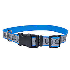 Coastal Pet Products Bone Reflective Personalized Dog Collar