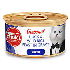 Grreat Choice® Sliced Gourmet Cat Food