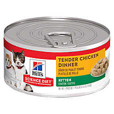 Hill's® Science Diet® Chunks & Gravy Kitten Food