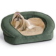 K&H Deluxe Ortho Bolster Sleeper Pet Bed