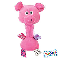 """Toys""""R""""Us® Long Neck Pal Rattle Puppy Toy"""