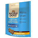 NUTRO® NATURAL CHOICE® Tartar Control Adult Dog Biscuit
