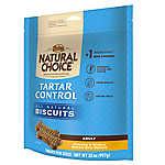 NUTRO® NATURAL CHOICE® Tartar Control Adult Dog Biscuit