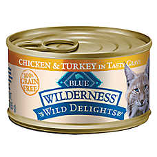 BLUE Wilderness® Wild Delights™ Grain Free Adult Cat Food