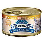 BLUE Wilderness® Wild Delights™ Grain Free Adult Cat Food