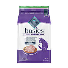 BLUE Basics® Limited Ingredient Grain Free Turkey & Potato Indoor Adult Cat Food