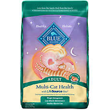 BLUE™ Multi-Cat Health Chicken & Turkey Adult Cat Food