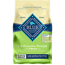 BLUE Life Protection Formula® Small Breed Adult Dog Food - Lamb & Brown Rice