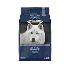 BLUE Wilderness® Senior Dog Food - Grain Free, Natural, Chicken