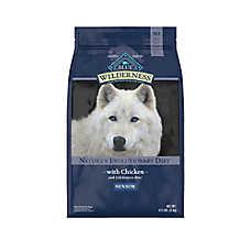 BLUE Wilderness® Senior Dog Food - Grain Free, Natural, Chicken