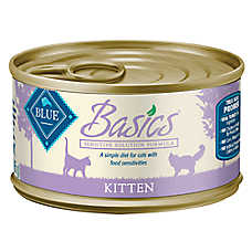 BLUE Basics® Turkey & Potato Sensitive Solution Kitten Food