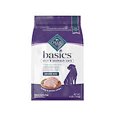 BLUE Basics® Senior Dog Food - Limited Ingredient, Turkey & Potato