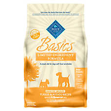 BLUE Basics® Sensitive Solution Turkey & Potato Healthy Weight Adult Dog Food