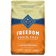 BLUE Freedom® Large Breed Adult Dog Food - Grain Free, Chicken