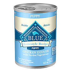 BLUE Homestyle Recipe® Chicken, Vegetable & Brown Rice Puppy Food