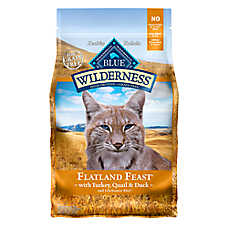 BLUE Wilderness® Grain Free Chicken Mature Adult Cat Food