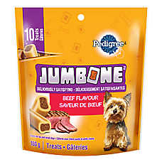 PEDIGREE® JUMBONE® Meaty Center Mini Dog Bones