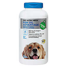 Dog food for healthy skin and coat petsmart for Dog food with fish oil