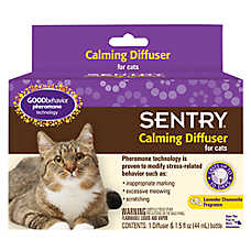 SENTRY® GOOD Behavior® Lavender Chamomile Cat Calming Diffuser