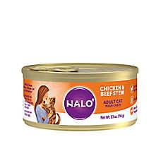 HALO® Indoor Cat Food - Natural, Grain Free, Chicken & Beef Recipe
