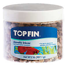 Top Fin® Crushed Pebble Aquatic Decor