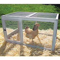 Precision Pet Backyard Barn Chicken Pen