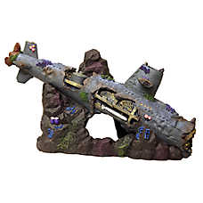 Top Fin® Sunken Ship Aquarium Decoration