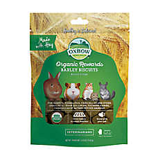 Oxbow BeneTerra Organic Barley Biscuits