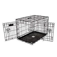 Precision Pet ProValu Two-Door Dog Crate