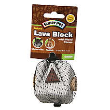 Super Pet® Natural Lava Block Small Animal Chew Toy
