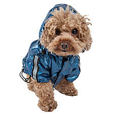Pet Life Reflecta-Sport Dog Rainbreaker With Removable Hood
