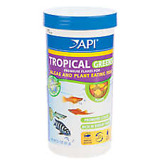 API® Tropical Greens Fish Flakes