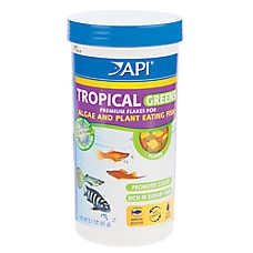 API® Tropical Greens Fish Flakes