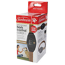 Sunbeam Advanced Ultrasonic Bark Control Dog Collar