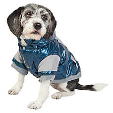 Pet Life Vintage Aspen Ski Coat With Removable Hood