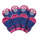 Pet Life Fashion Dog Socks w/ Rubberized Grips