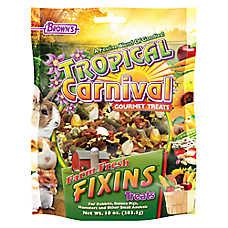 F.M. Brown's Tropical Carnival Farm Fresh Fixins Small Animal Treats