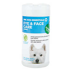 GNC Pets Dog Essentials Eye & Face Care Wipes