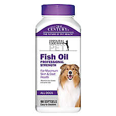 21st Century Fish Oil Professional Strength Dog Skin & Coat Health