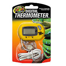 Zoo Med™ Reptile Terrarium Digital Thermometer