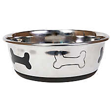 Top Paw® Bone Dog Bowl