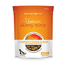 Fruitables® Skinny Minis™ Dog Treat - Gluten Free, Pumpkin & Mango