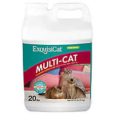 ExquisiCat® Multi-Cat Clumping Scoop Cat Litter
